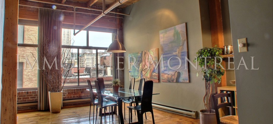 Loft zara location appartements meubl s montreal for Entrepot meuble montreal