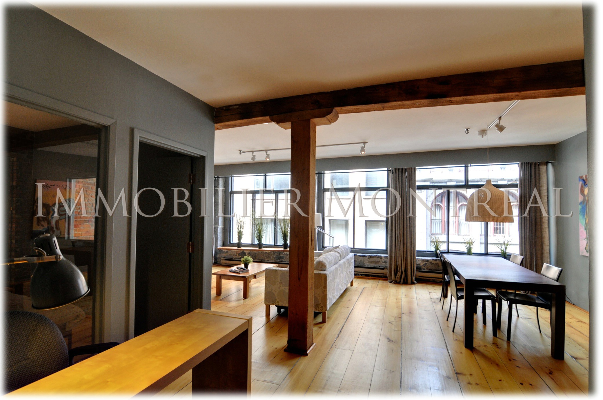Loft mia location appartements meubl s montreal for Location meuble montreal