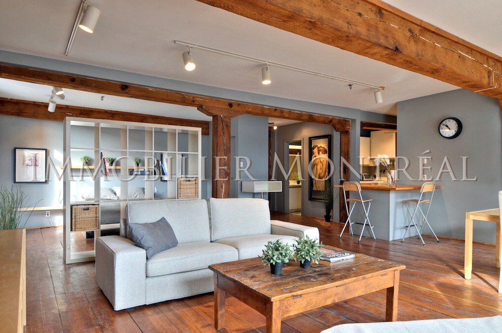 Loft d youville location appartements meubl s montreal for Entrepot meuble montreal