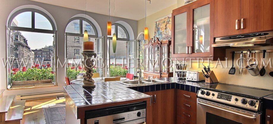 Condo-Loft-Old-Montreal-Old-Port-395-Notre-Dame-Ouest-West-For-Sale-A-Vendre-6A